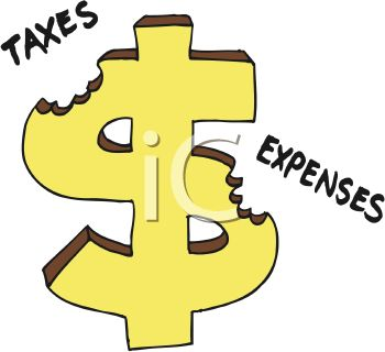 Expenditures clipart.