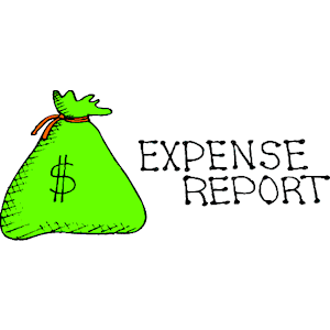 Expense Clipart.