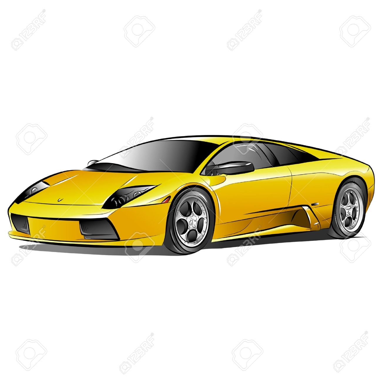 Expensive Car Clipart.