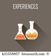 Experiences Clip Art Vector Graphics. 82 experiences EPS clipart.