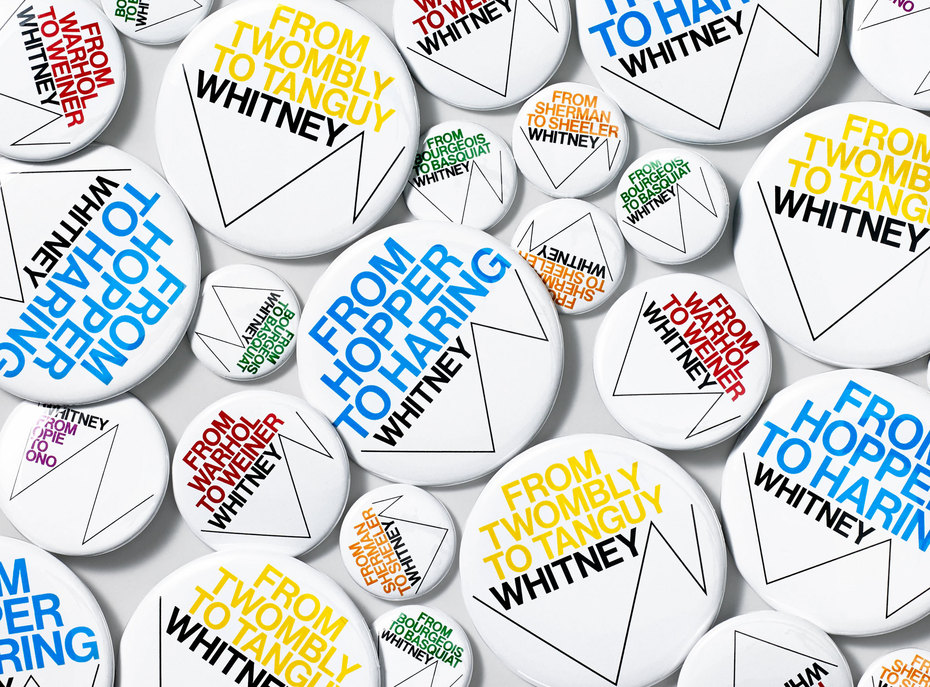 A New Graphic Identityfor the Whitney.