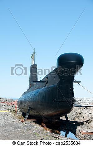 Stock Photo of Submarine museum.