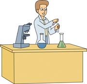 Science table clipart.