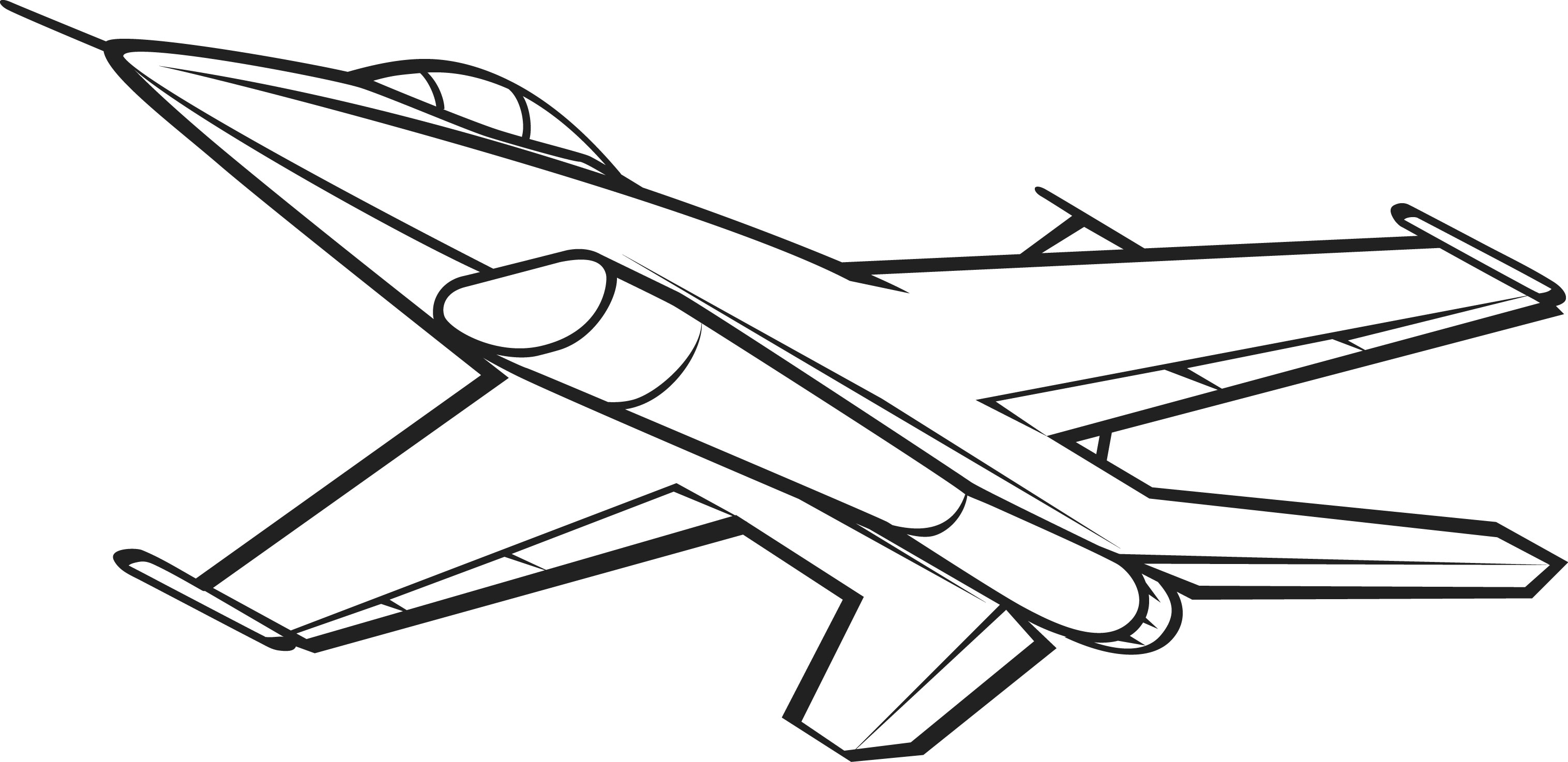 clipart of jet - photo #25