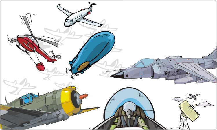 Aircraft Clipart.