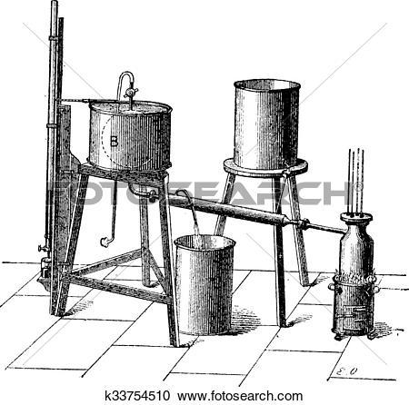 Clipart of Experimental Setup to Measure the Maximum Elastic Force.