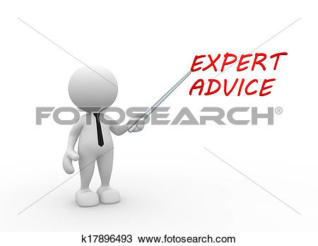 Drawing of Expert advice k17896493.