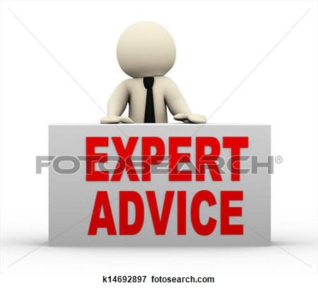 Expert Advice Clipart.