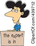 Expert clipart #9