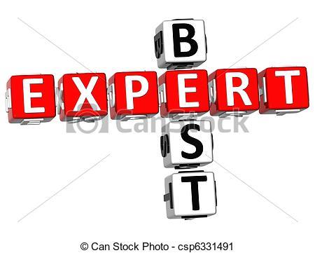 Clipart of Best Expert Crossword.
