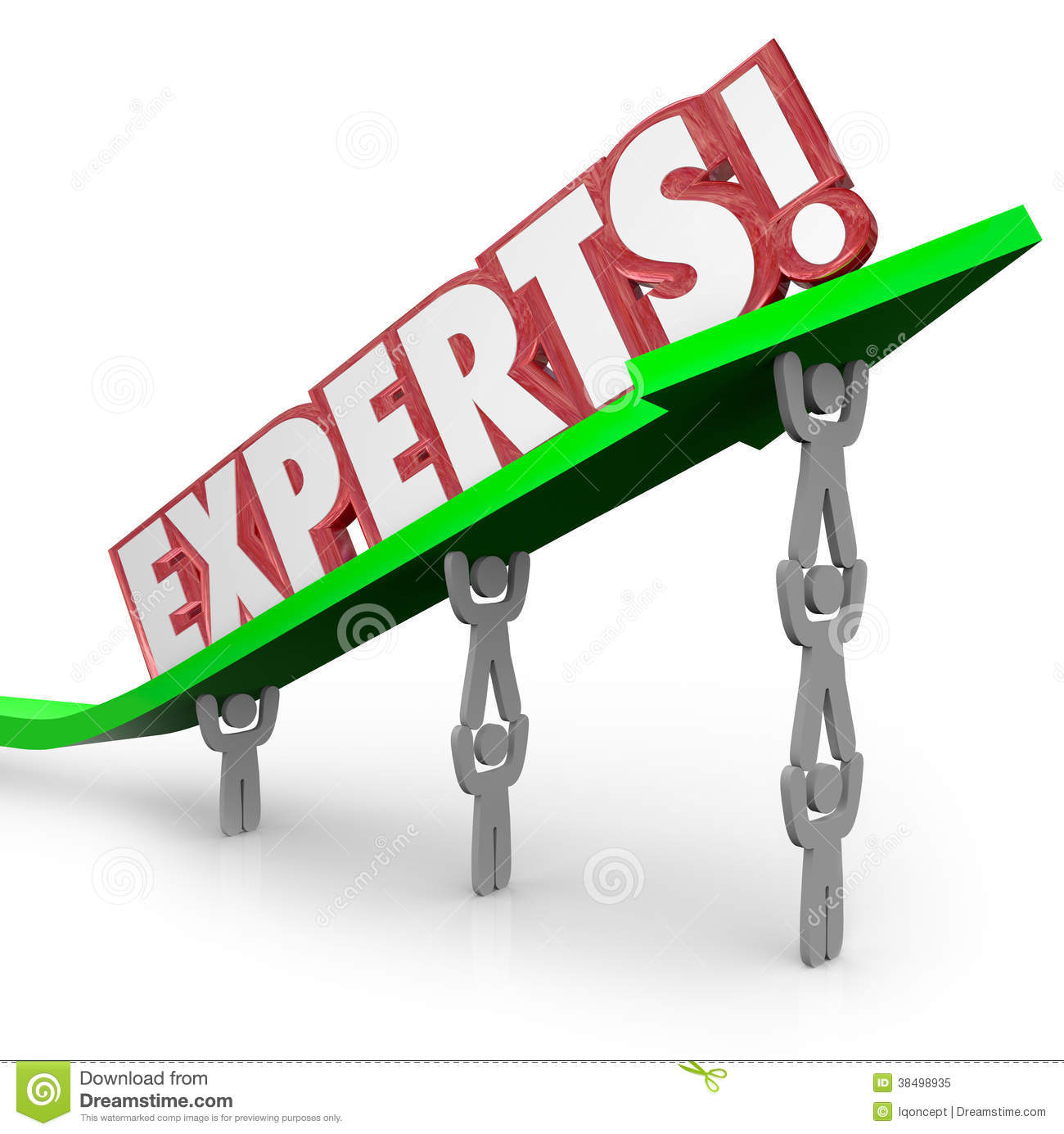Experts Word Shows Expertise And Consultants Royalty Free Stock.