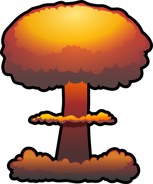 Exploding Bomb Clipart.
