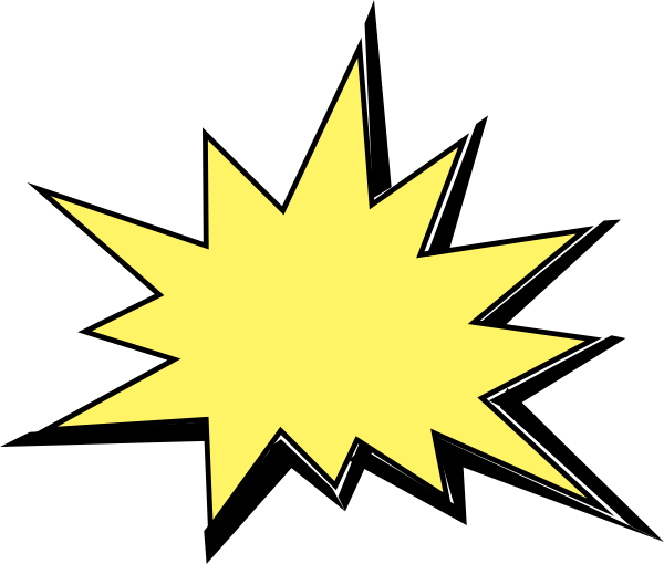 Animated Explosion Clip Art.