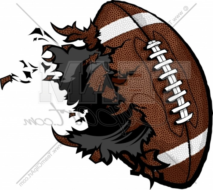 Exploding Football Clipart Ball Vector Image Best Draw.