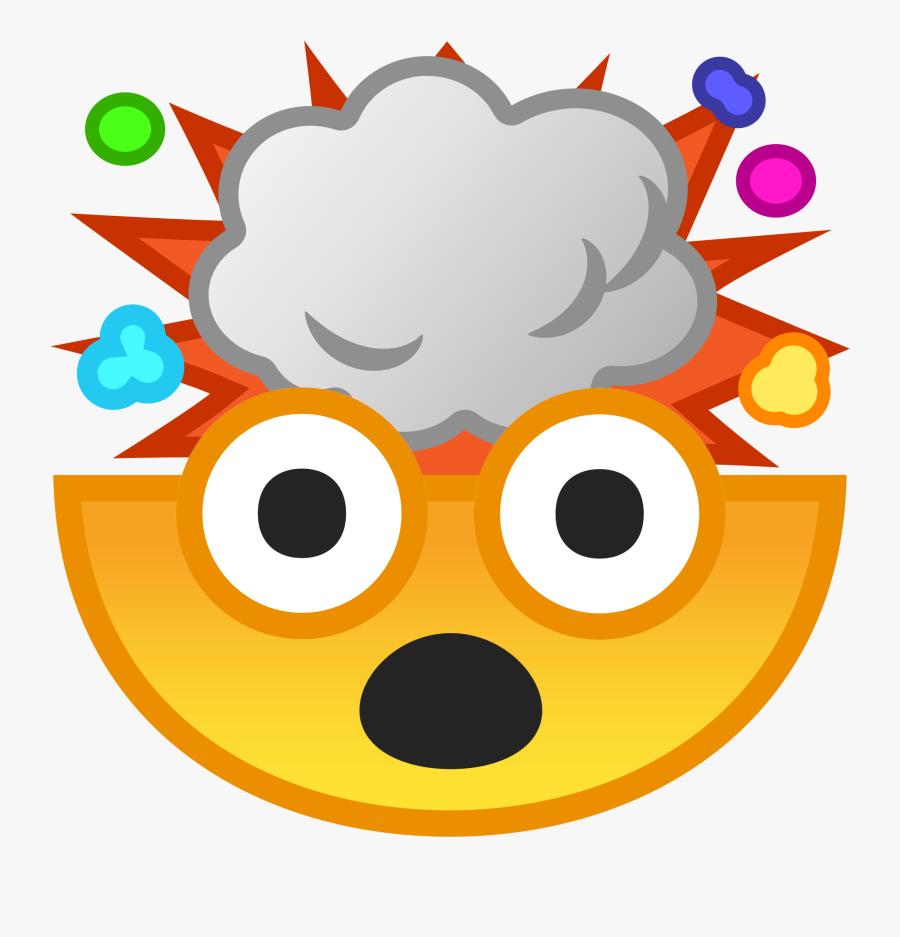 Exploding Head Icon.