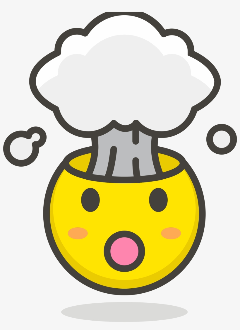 File Exploding Head Png Exploding Emoticon.