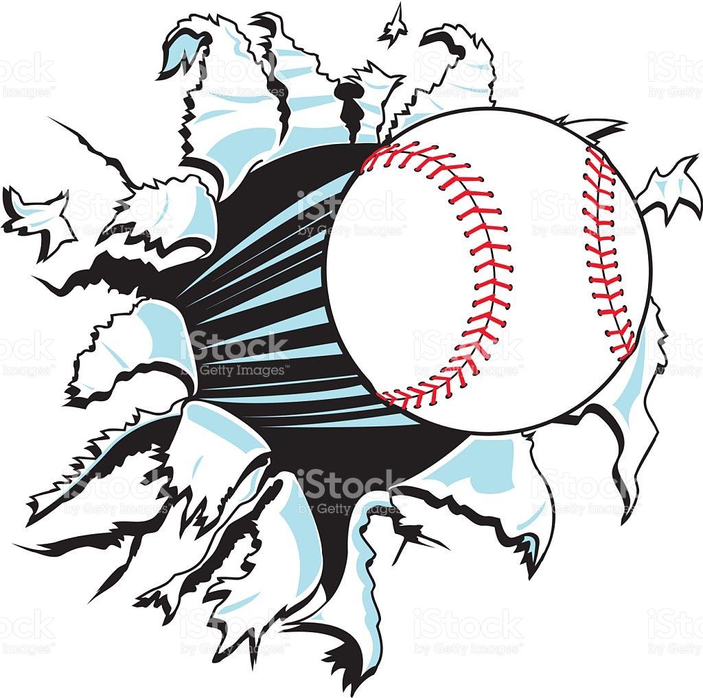 Baseball Vector Art at GetDrawings.com.