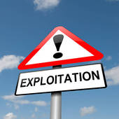 Stock Image of Exploitation concept. k9871305.