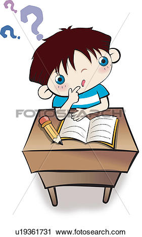 Clipart of Child, Study, child, Exploration, Research, children.