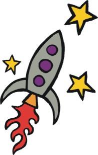 Space Exploration Clip Art.