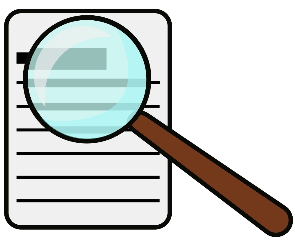 Explore magnifying glass clipart.