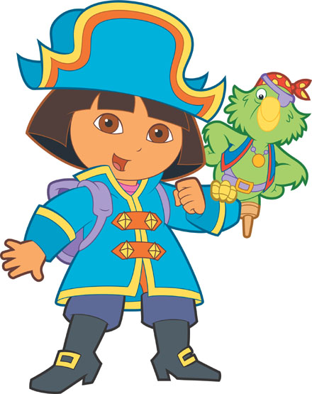 Dora The Explorer Clipart.