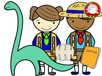 Kid Explorers Clipart (Personal & Commercial Use).