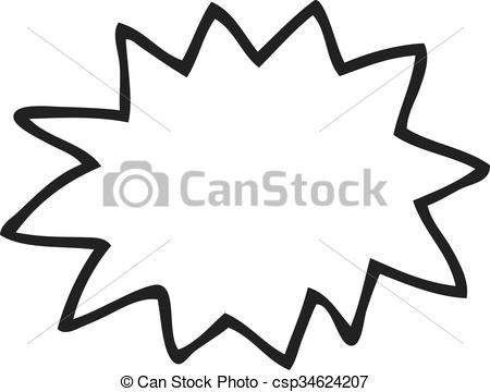 Explosion clipart black and white 3 » Clipart Station.