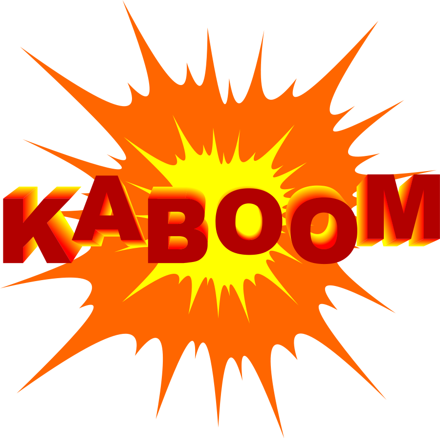 Explosion Clip Art Free.