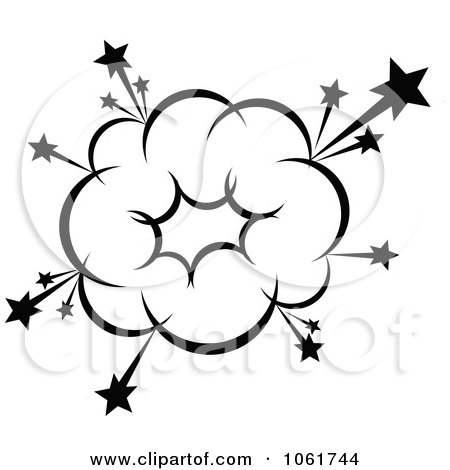 Explosion clipart black and white 1 » Clipart Station.