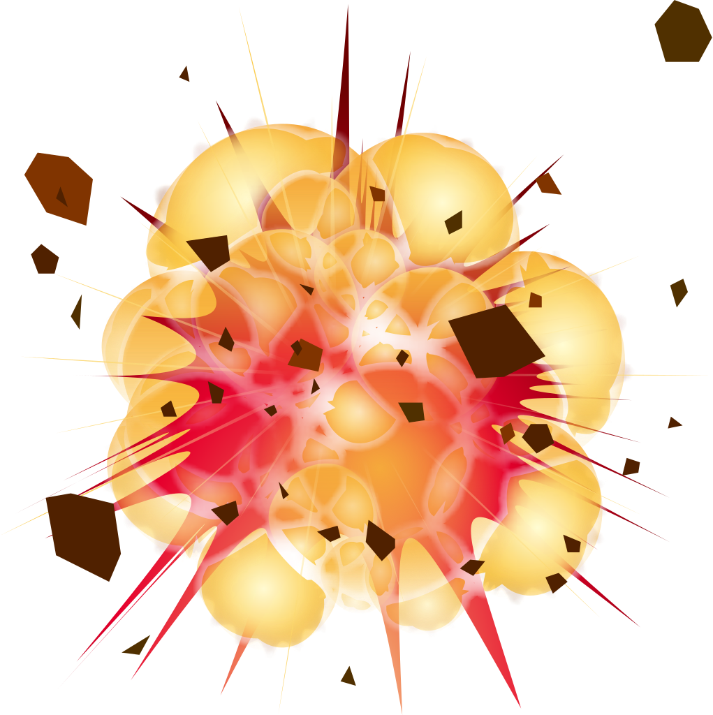 Explosion Clipart PNG PNG Image.