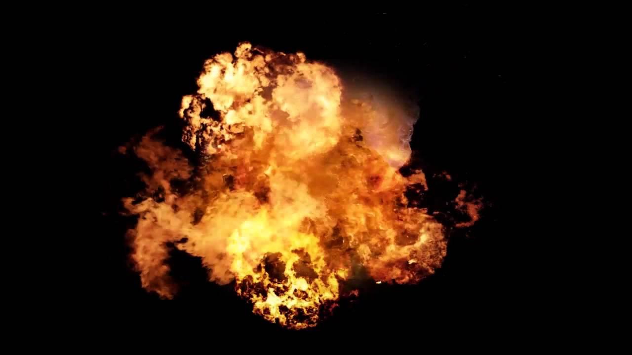 Big Explosion Effect Video Mp4 HD Sound.