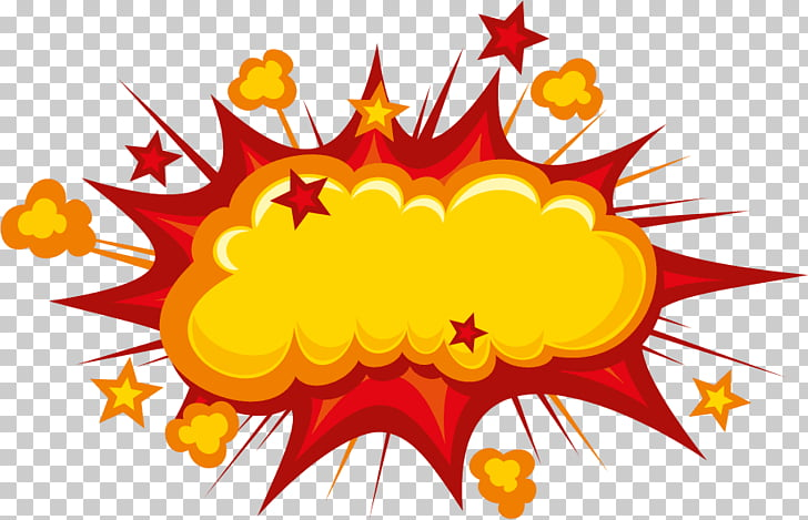 Cartoon Comics Comic book, explosions PNG clipart.