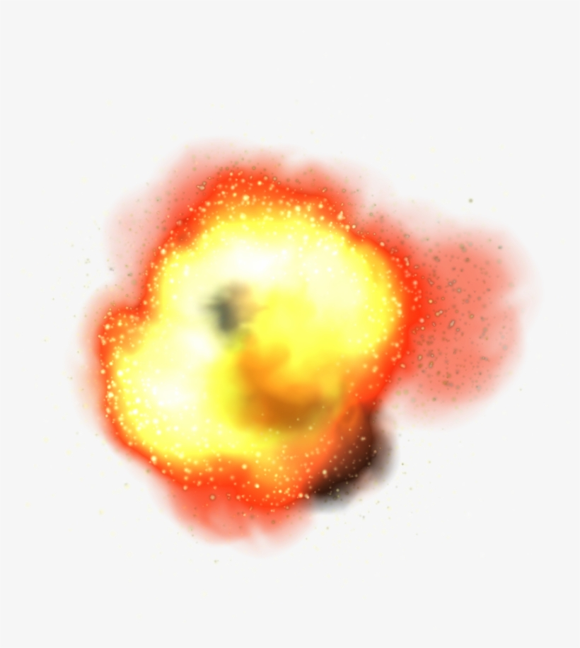 Fire Explosion Png.