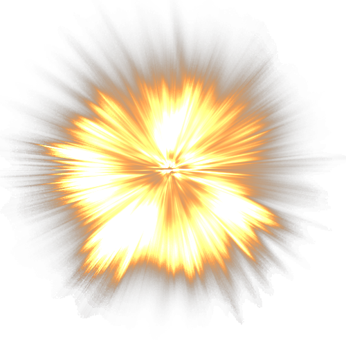 Transparency Explosion PNG.