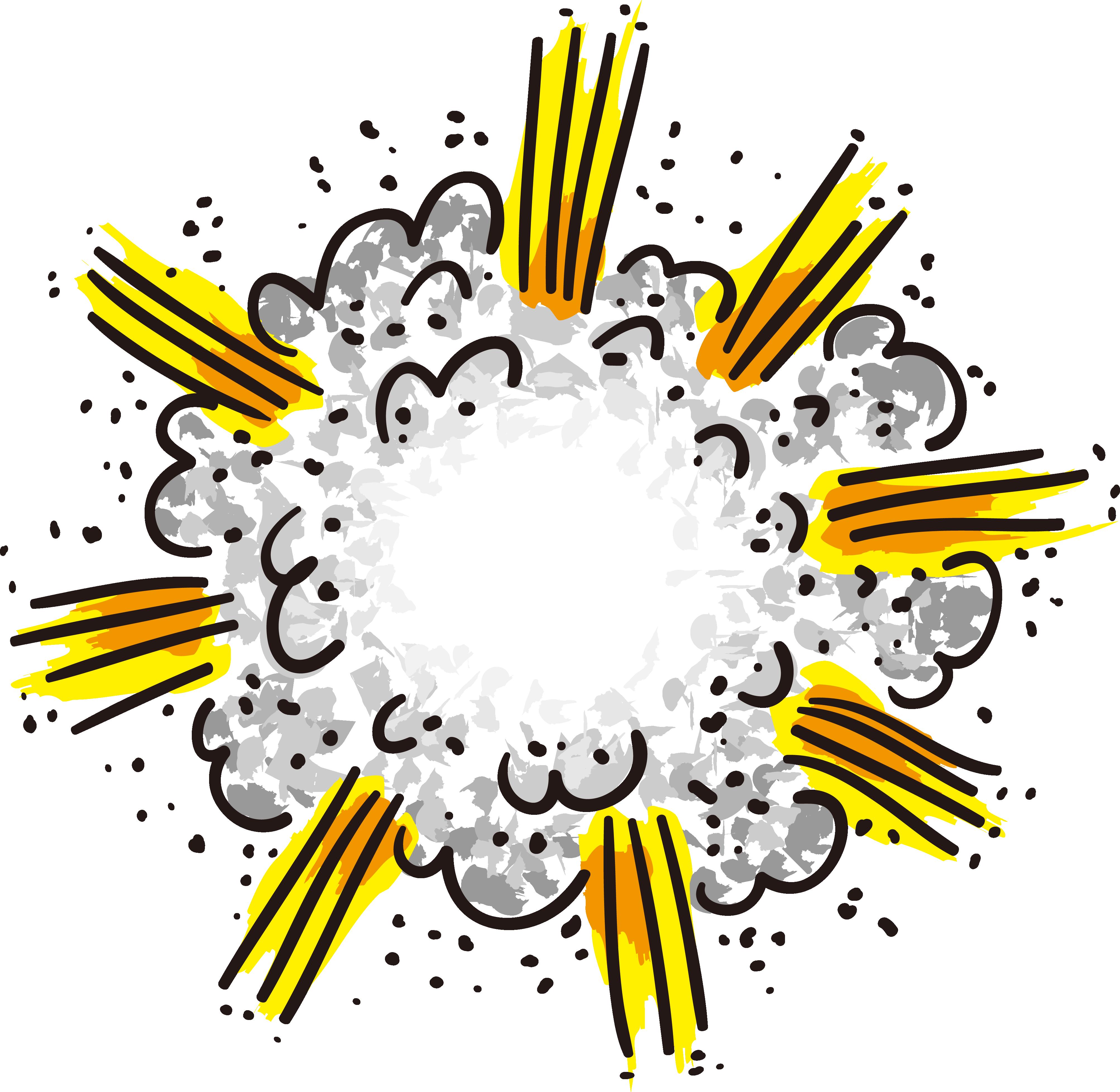 Explosion Clip art.