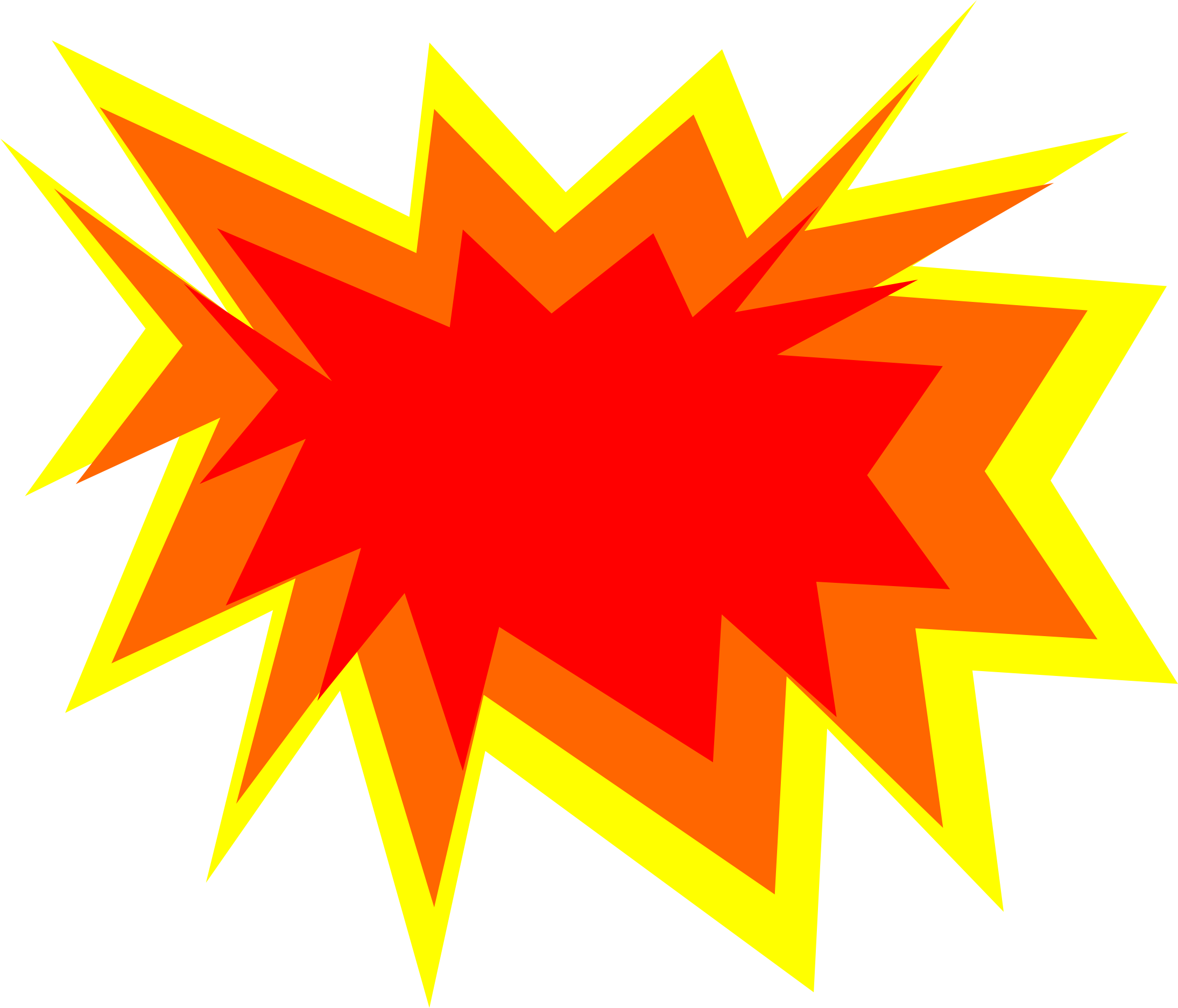 Explosions clipart - Clipground