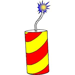 Explosives Clip Art.