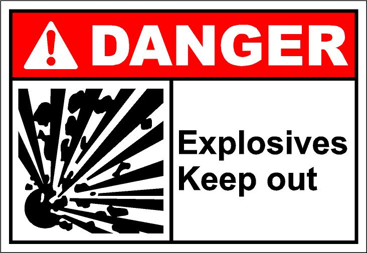 Explosives clipart.