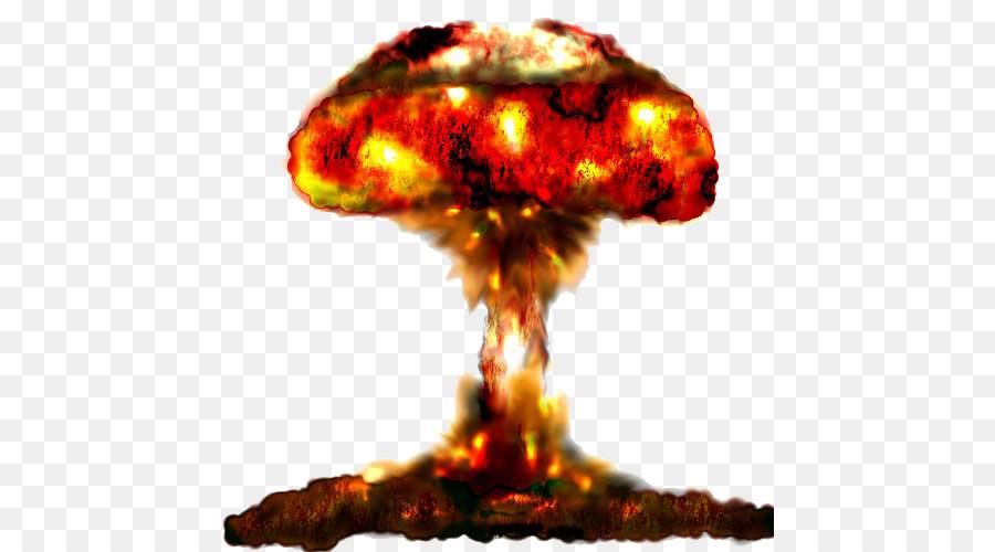 Mushroom Cloud png download.