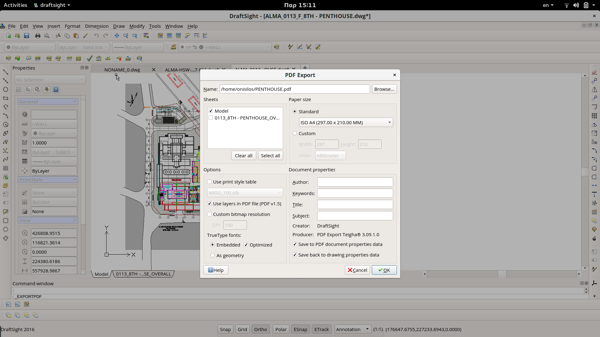 Export high quality images from draftsight or autocad to.
