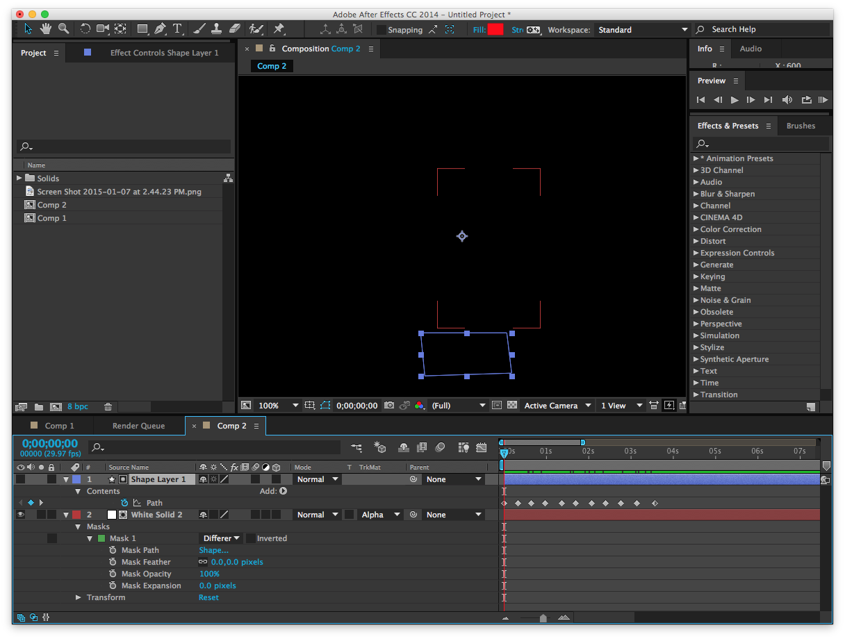 How to use After Effects Trim Path with an Illustrator Path.