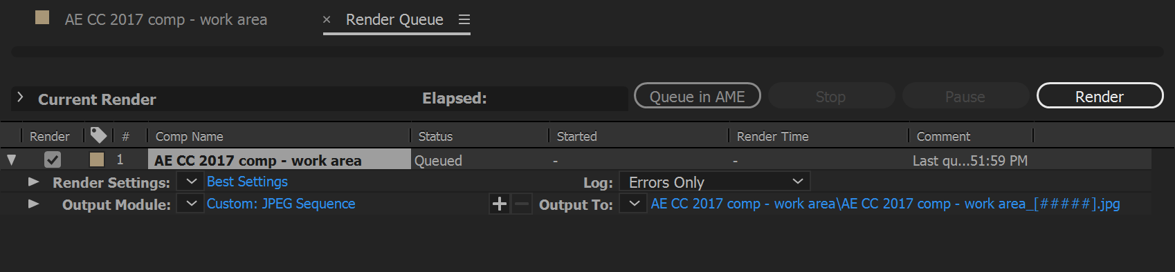Managing color in After Effects.