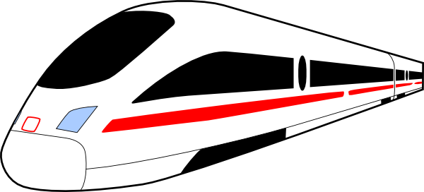 Express train clipart.
