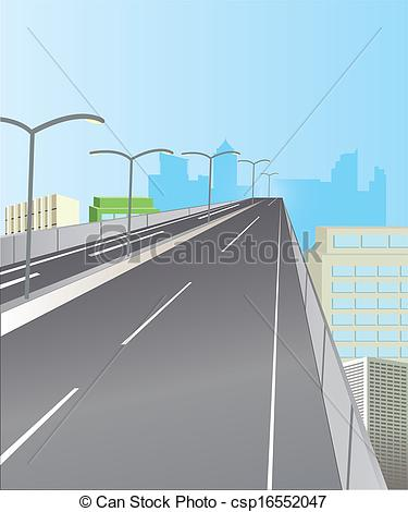EPS Vector of Expressway for high.