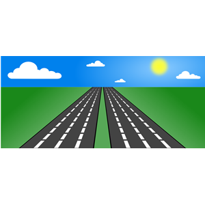 Open road clipart, cliparts of Open road free download (wmf, eps.