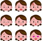 Facial expression Clipart Illustrations. 16,549 facial expression.