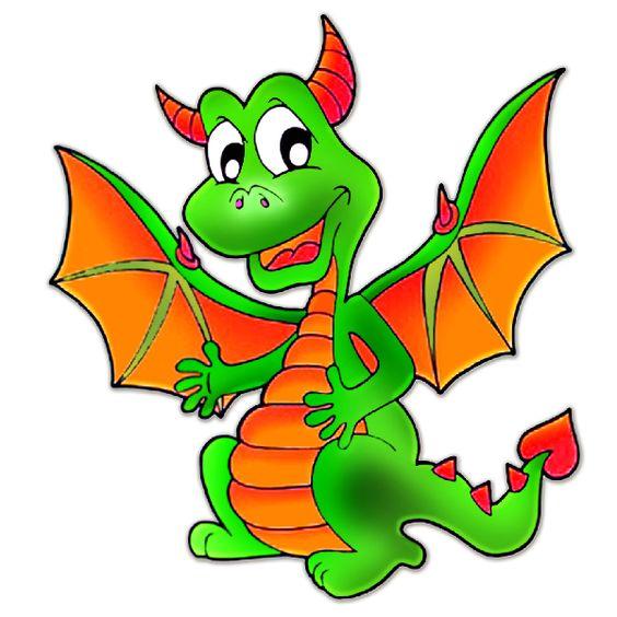 Cute Dragons Cartoon Clip Art Images.All Dragon Cartoon Picture.