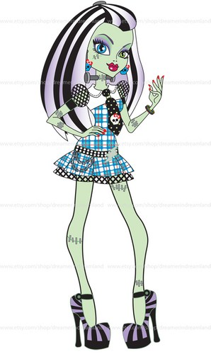 Monster High Clipart.