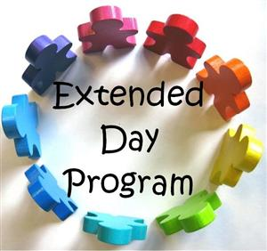 Extended Day Sign Clipart.